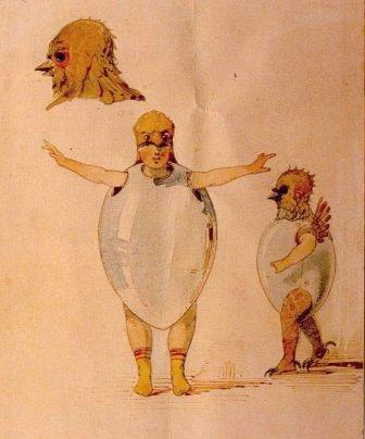 Ballet des poussins dans leurs coques (Ballet of the Unhatched Chickens)