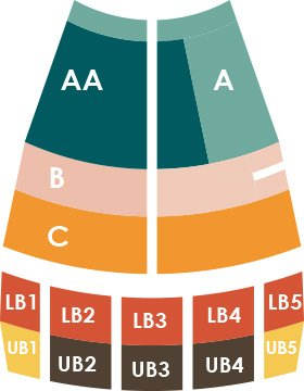 Classical Series Seating Chart