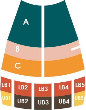 Pops Series Seating Chart